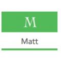 Краска Materia. Матовые - M
