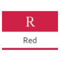 Краска Materia. Красные - R