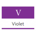 Краска Materia. Фиолетовые - V